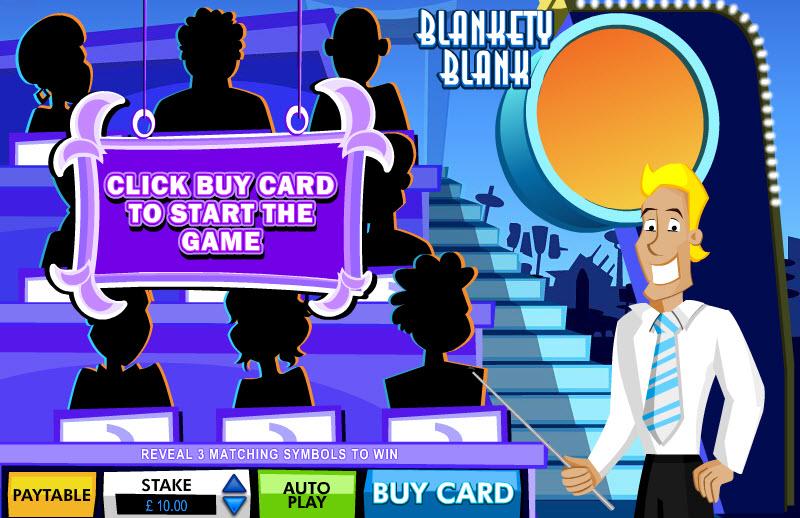 Blankety Blank Scratch MCPcom Electracade
