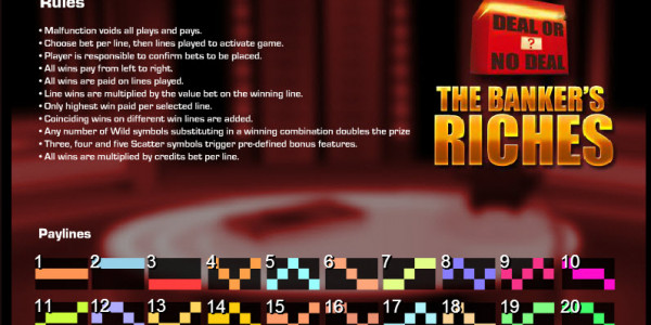 Deal or No Deal – The Banker's Riches MCPcom Endemol Games pay