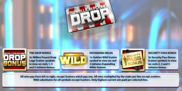 Million Pound Drop Slot MCPcom Endemol Games pay