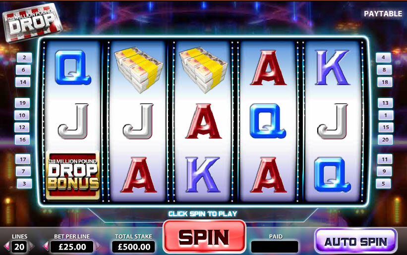 Million Pound Drop Slot MCPcom Endemol Games