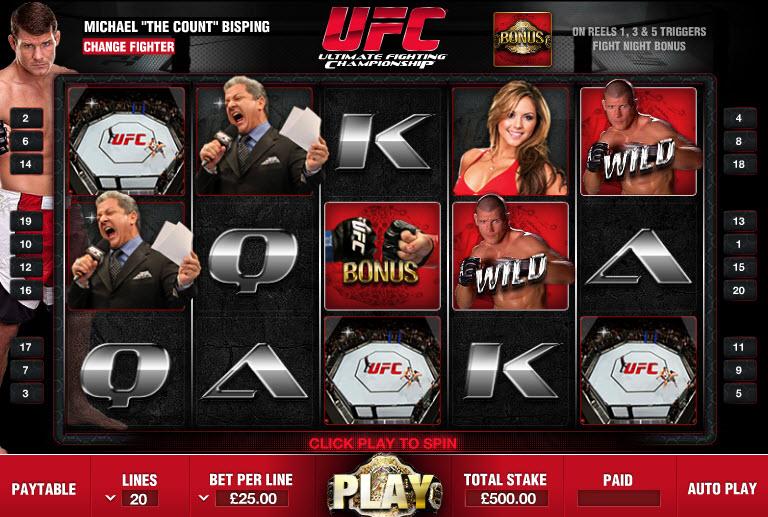 UFC MCPcom Endemol Games