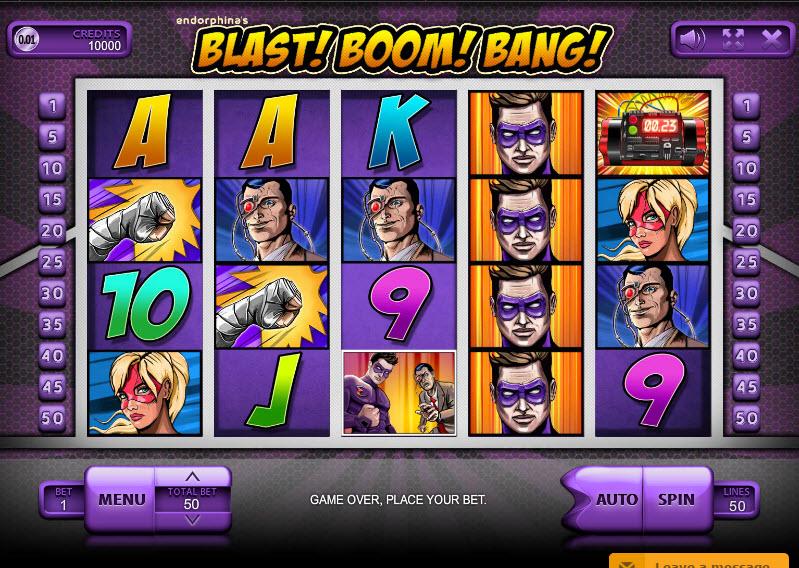 Blast Boom Bang MCPcom Endorphina