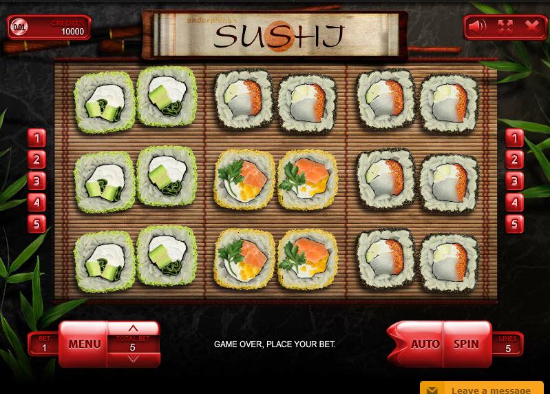 Sushi MCPcom Endorphina