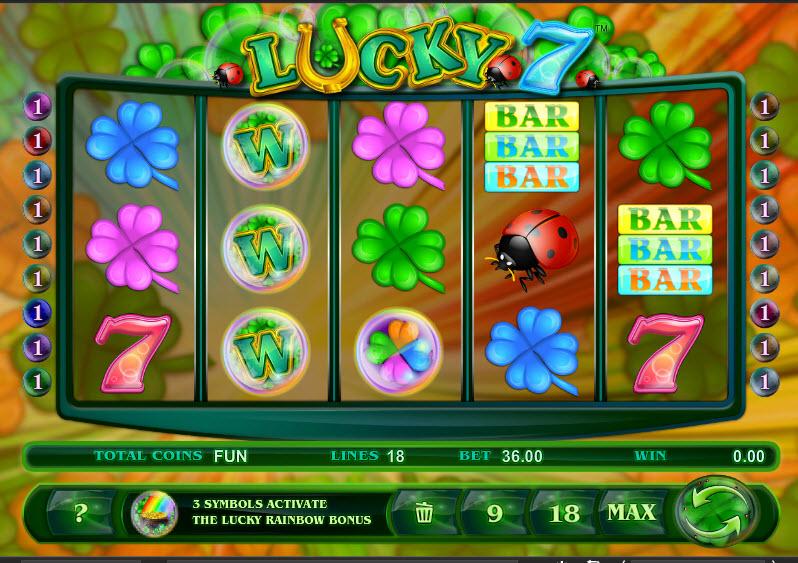 Lucky 7 MCPcom Espresso Games