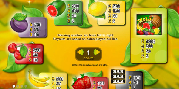 Fruit Fever MCPcom Espresso Games pay