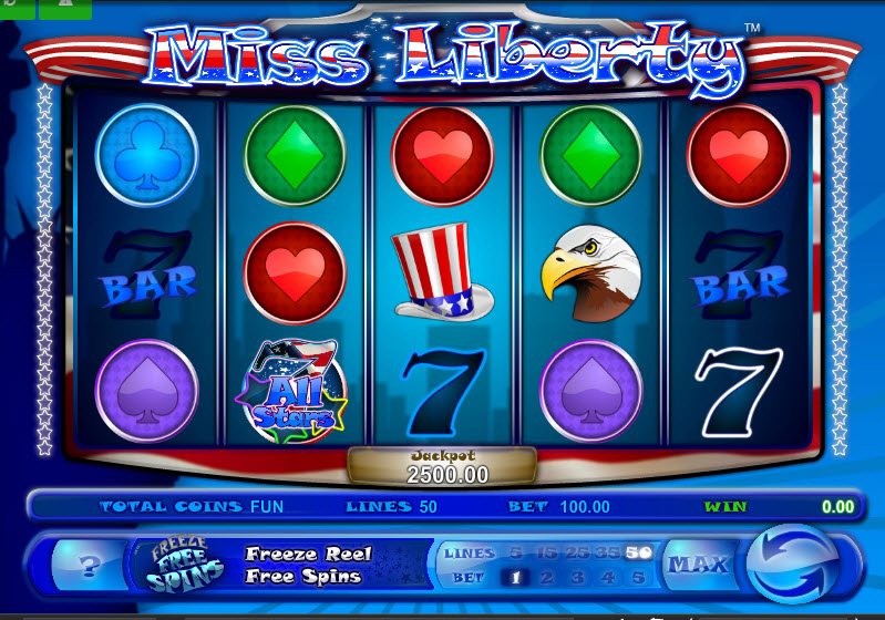 Miss Liberty MCPcom Espresso Games