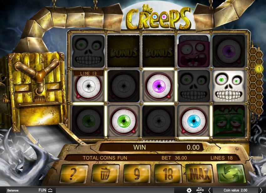 The Creeps MCPcom Espresso Games