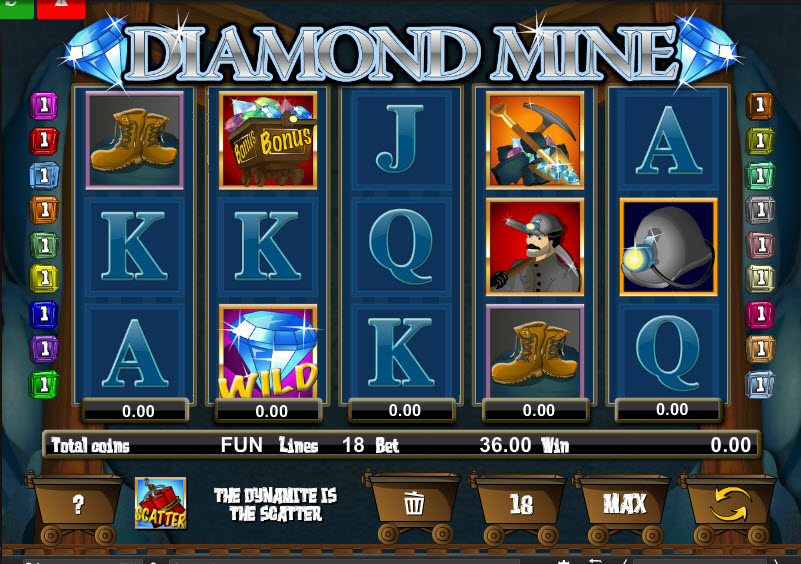 Diamond Mine MCPcom Espresso Games