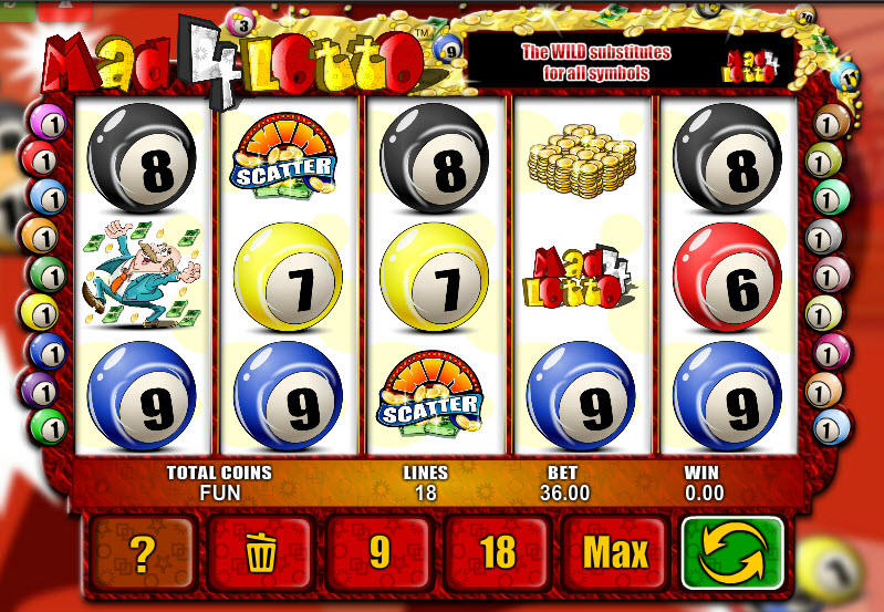 Mad 4 Lotto MCPcom Espresso Games