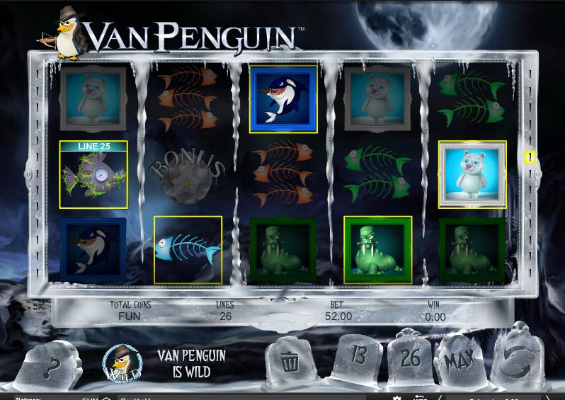 Van Penguin MCPcom Espresso Games