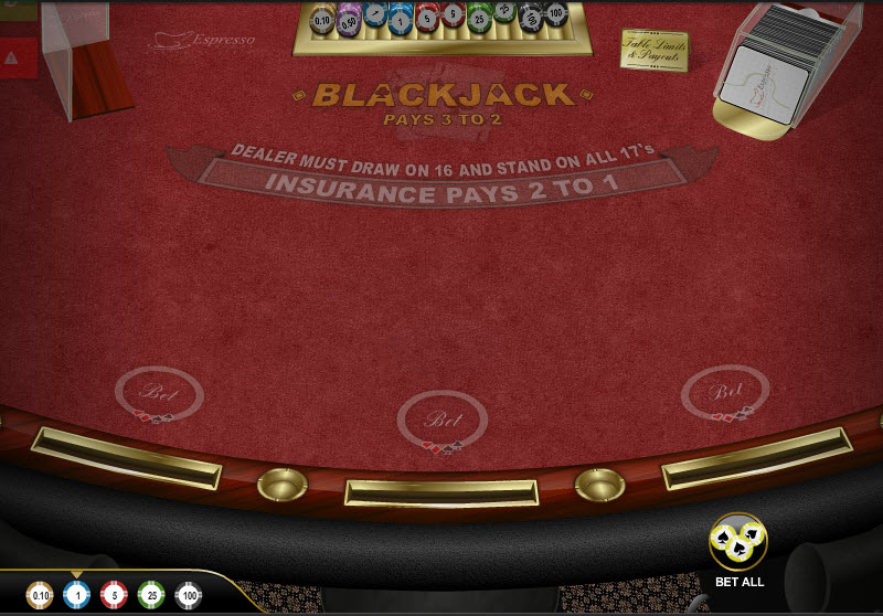 Classic Blackjack MCPcom Espresso Games