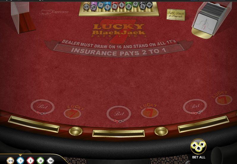 Lucky 7 Blackjack MCPcom Espresso Games