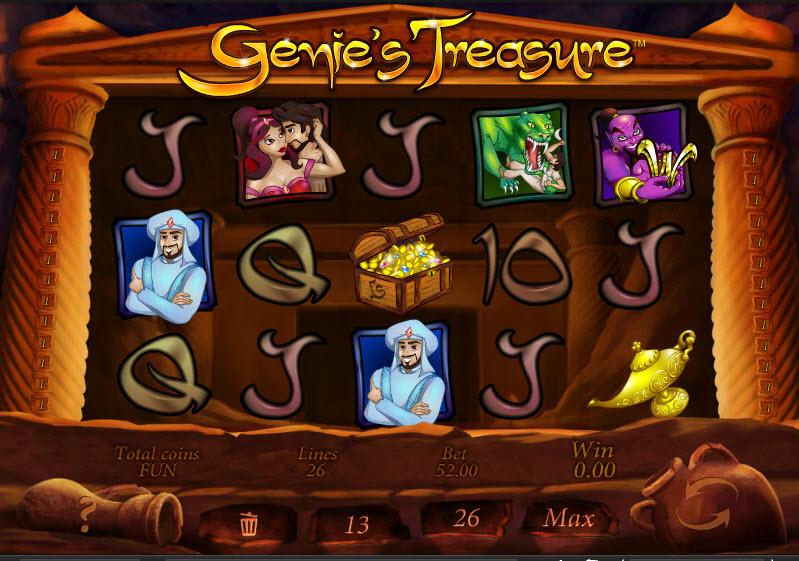 Genie's Treasure MCPcom Espresso Games