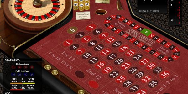 Global Roulette 45 MCPcom Espresso Games