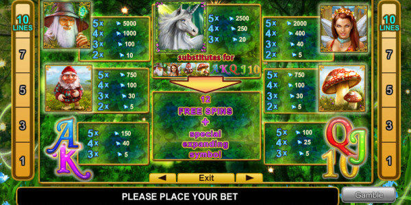 Fortune Spells MCPcom Euro Games Technology pay