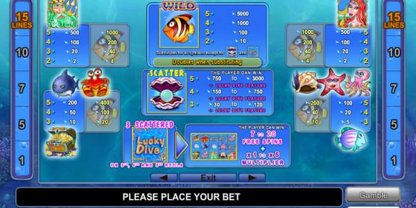 Ocean Rush MCPcom Euro Games Technology pay
