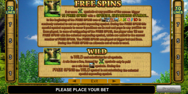 Majestic Forest MCPcom Euro Games Technology pay2