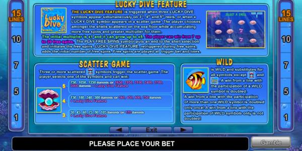 Ocean Rush MCPcom Euro Games Technology pay2