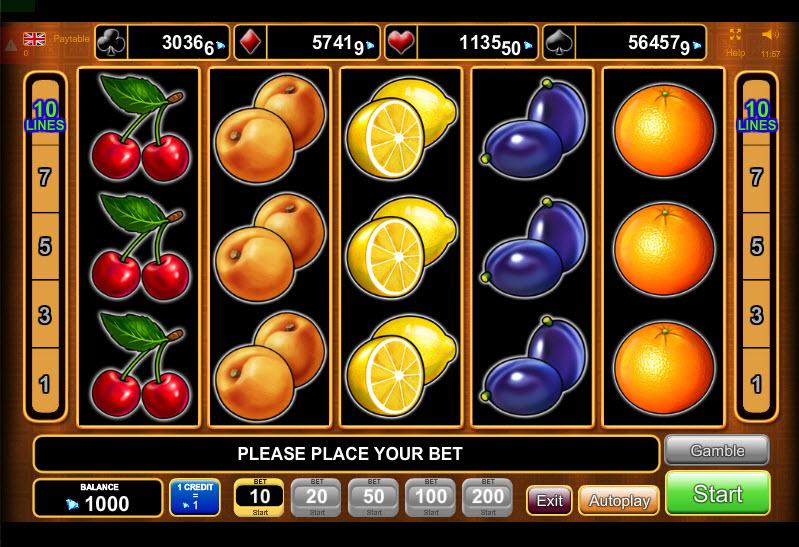 Fruits Kingdom MCPcom Euro Games Technology