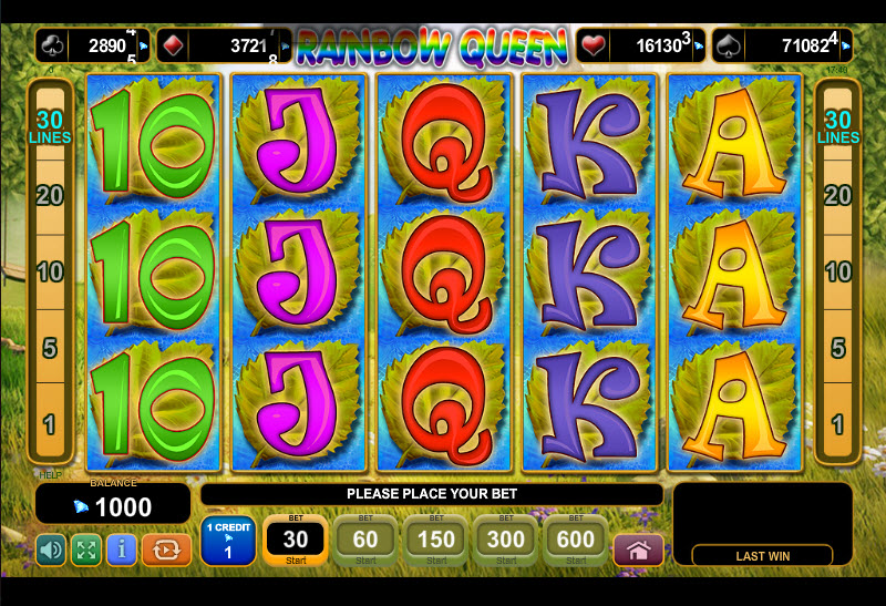 Rainbow Queen MCPcom Euro GamRainbow Queen MCPcom Euro Games Technologyes Technology