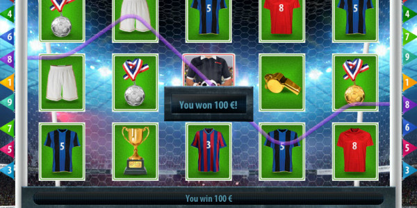 Football Slot MCPcom Gamescale win