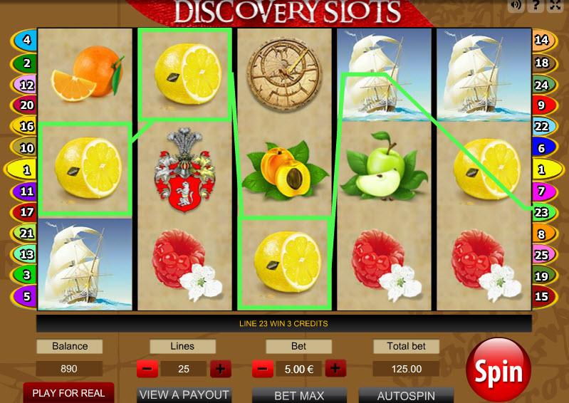 Discovery Slots MCPcom Gamescale