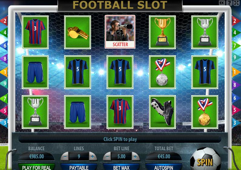 Football Slot MCPcom Gamescale