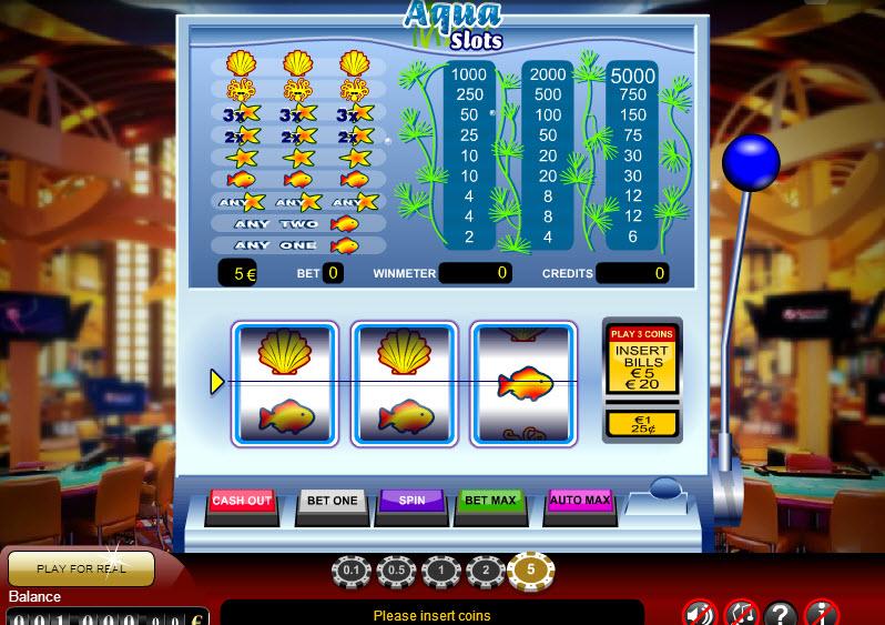 Aqua Slots MCPcom Gamescale