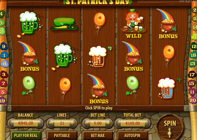 St. Patrick's Day MCPcom Gamescale