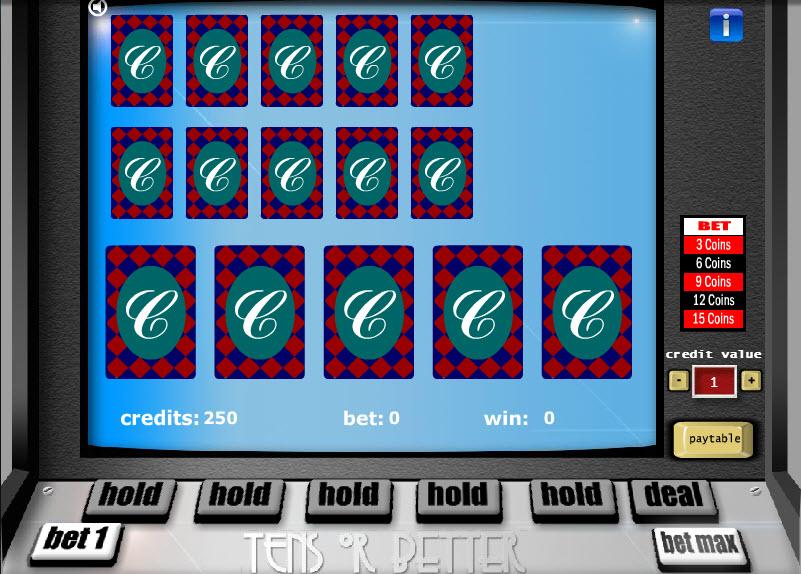 Tens or Better – 3 Hands MCPcom Gaming and Gambling
