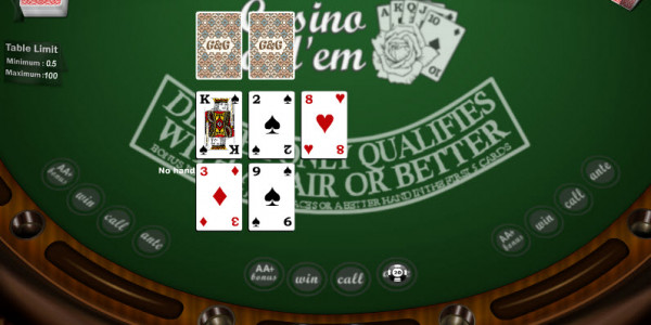 Casino Hold Em MCPcom Gaming and Gambling 2