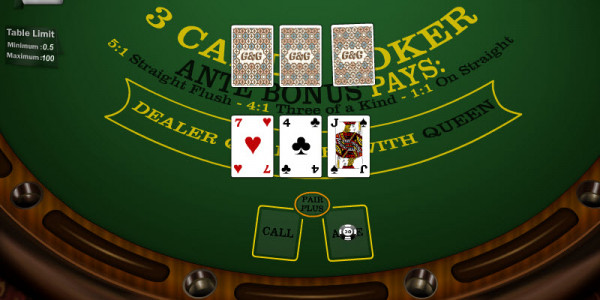 3 Cards Poker MCPcom Gaming and Gambling2