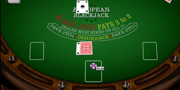 European Blackjack MCPcom Gaming and Gambling2