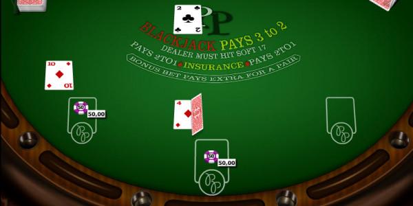 Perfect Pair Blackjack MCPcom Gaming and Gambling2
