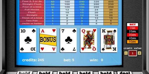 Double Bonus Poker – 1 Hand MCPcom Gaming and Gambling2