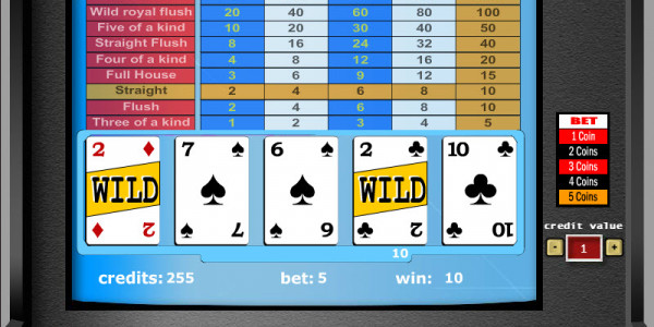 Deuces Wild – 1 Hand MCPcom Gaming and Gambling2