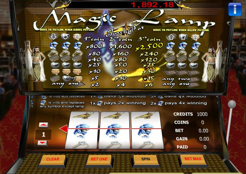 Magic Lamp MCPcom Gaming and Gambling