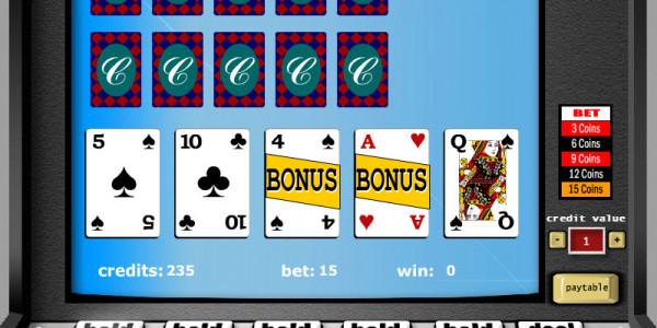 Double Bonus Poker – 3 Hands MCPcom Gaming and Gambling2