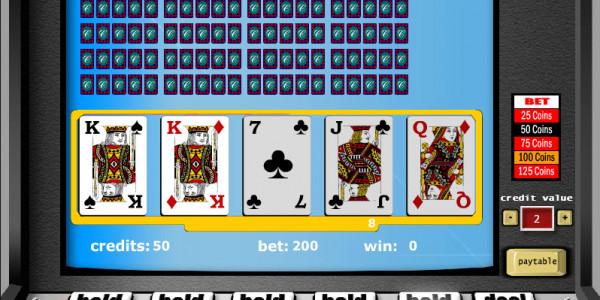 Jacks or Better – 25 Hands MCPcom Gaming and Gambling2