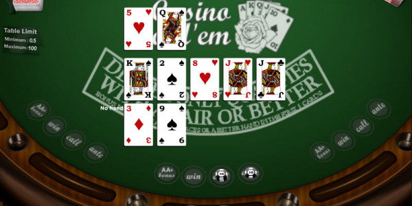Casino Hold Em MCPcom Gaming and Gambling 3
