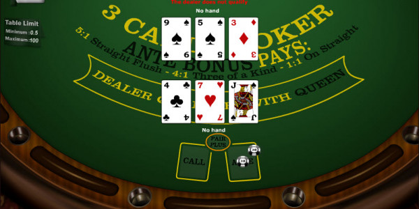 3 Cards Poker MCPcom Gaming and Gambling3