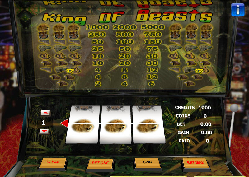King of Beasts MCPcom Gaming and Gambling