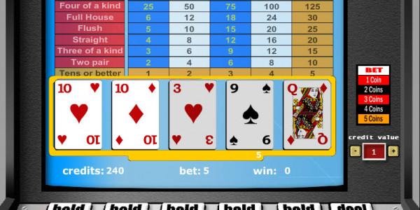 Tens or Better – 1 Hand MCPcom Gaming and Gambling3