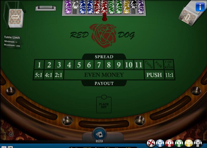 Red Dog MCPcom Gaming and Gambling