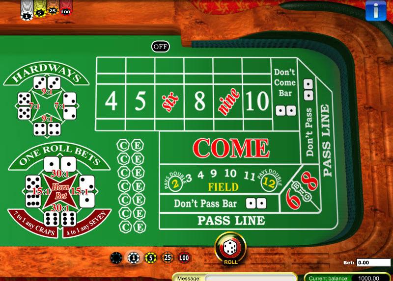 Craps MCPcom Gaming and Gambling