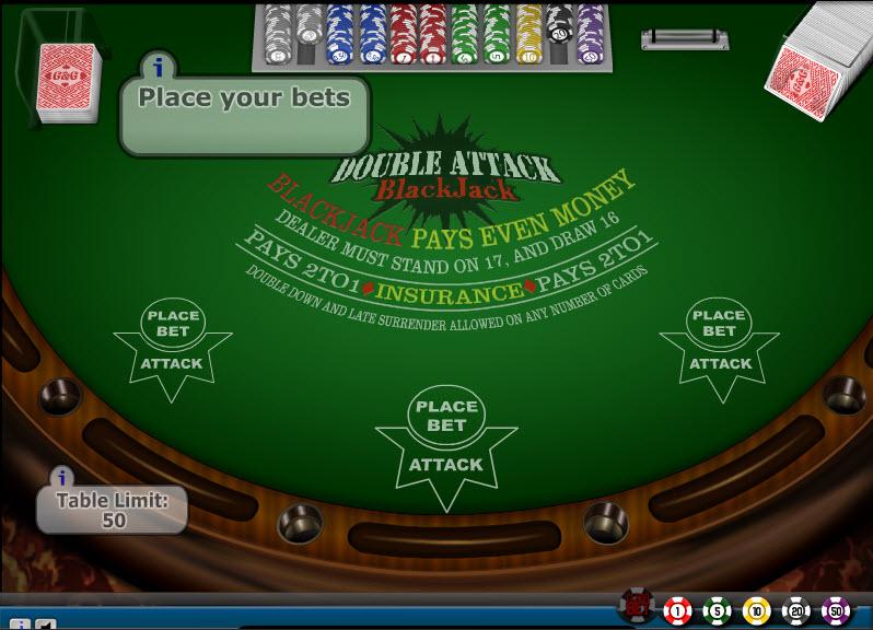 Double Attack MCPcom Gaming and Gambling