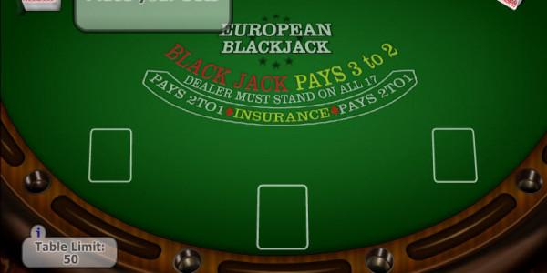 European Blackjack MCPcom Gaming and Gambling