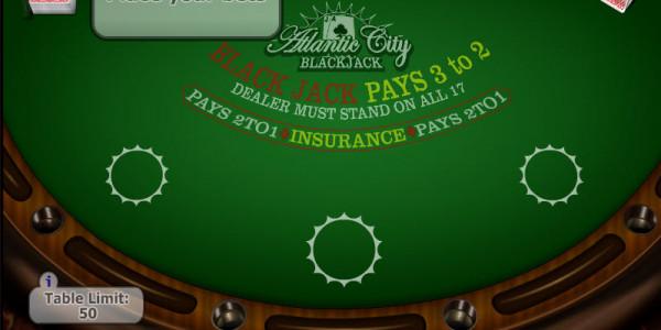 Atlantic City Blackjack  MCPcom Gaming and Gambling