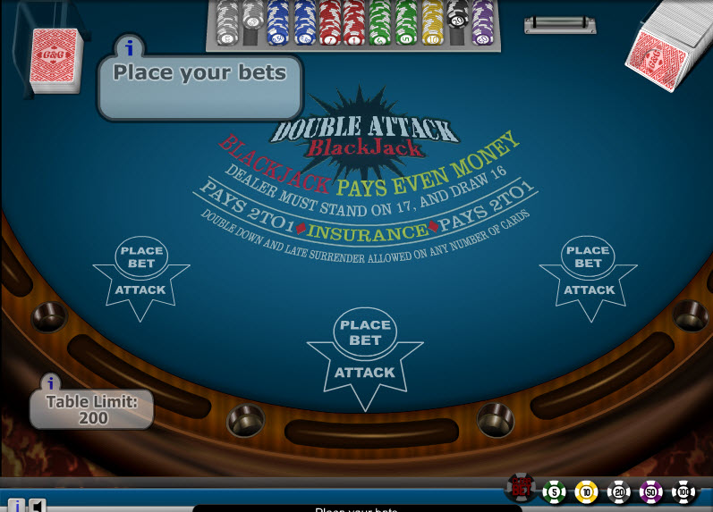 Double Attack – High Limit MCPcom Gaming and Gambling