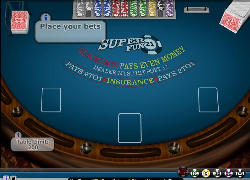 Super Fun 21 – High Limit MCPcom Gaming and Gambling